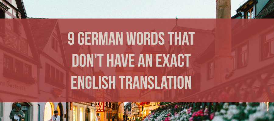 German words without English equivalent