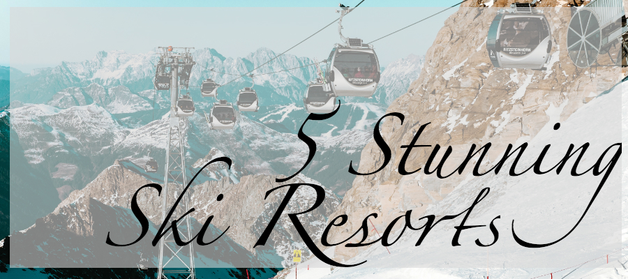 stunning ski resorts worldwide