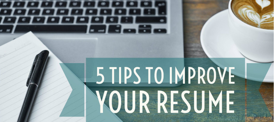 03 nov 5 tips to improve your resume